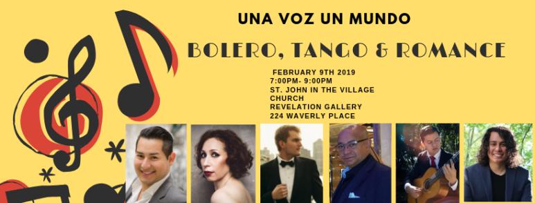 Bolero, Tango & Romance